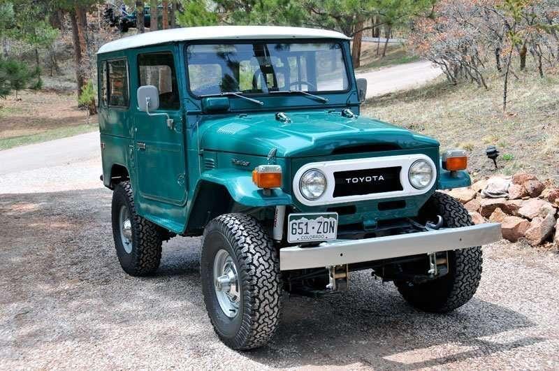 1977 FJ40 Rustic Green