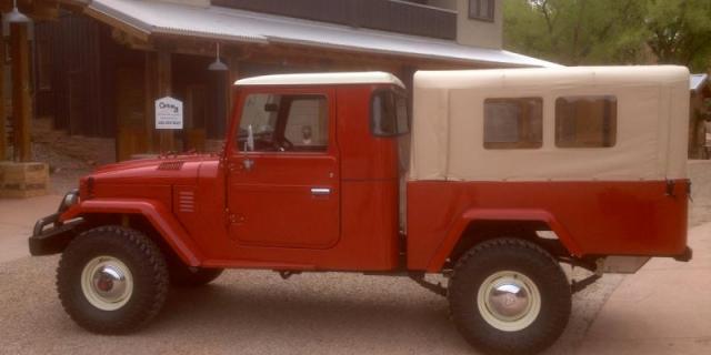 FJ45 Red