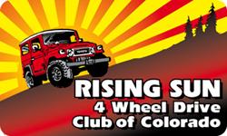 Rising Sun 4 Wheel Drive Club of Colorado