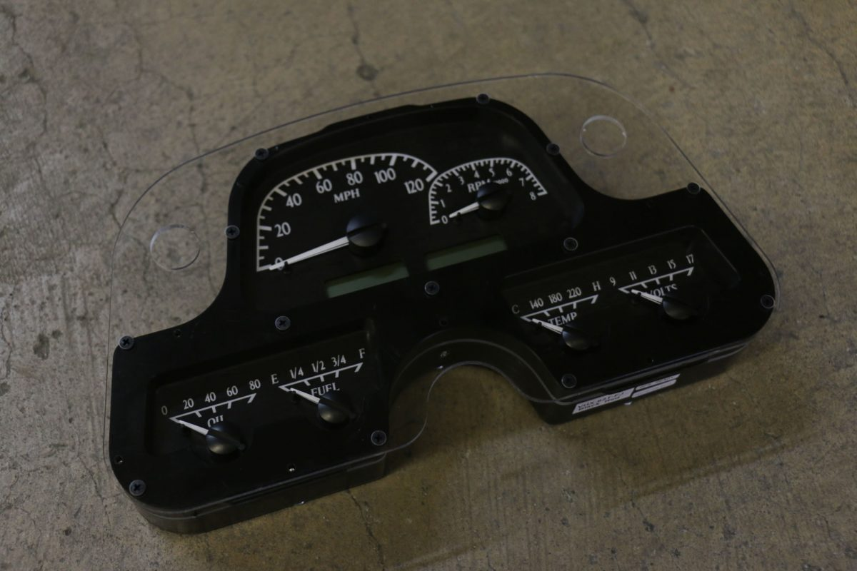Electronic Gauge Cluster : Fj digital instrument panel dakota gauge cluster
