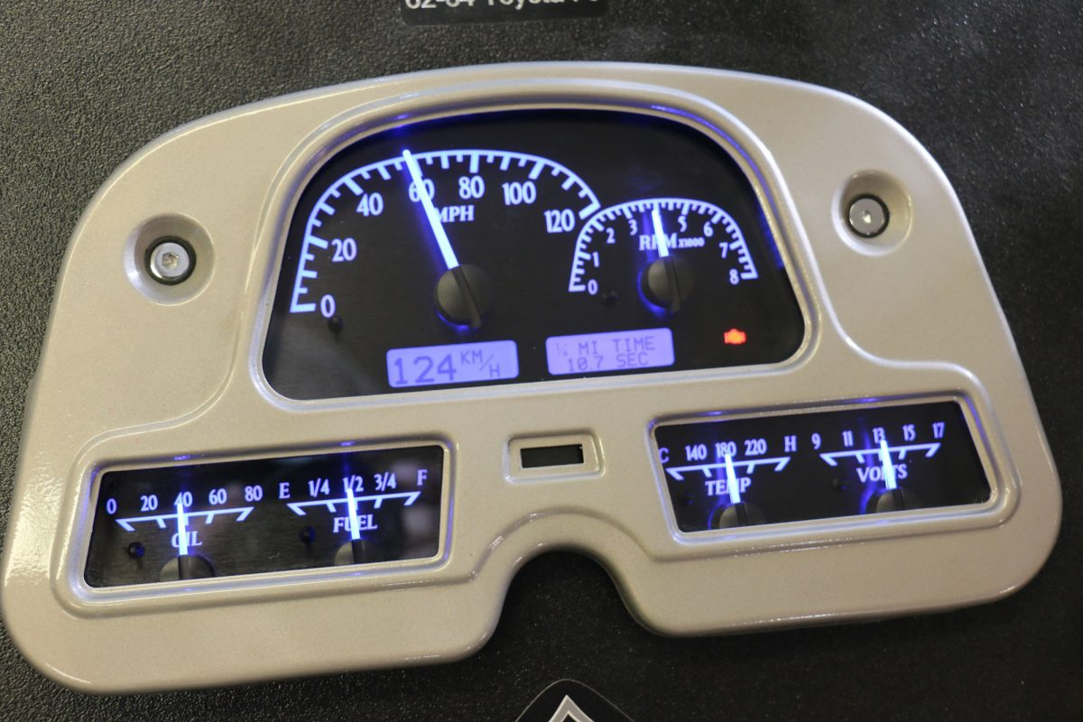 Digital Gauge Cluster : Fj digital instrument panel dakota gauge cluster