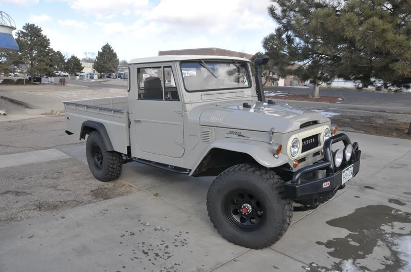 purchase used 1966 toyota land cruiser fj45 long bed