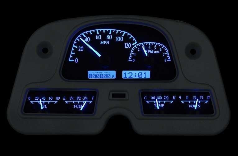 Digital Gauge Cluster : Fj digital instrument panel dakota gauge cluster