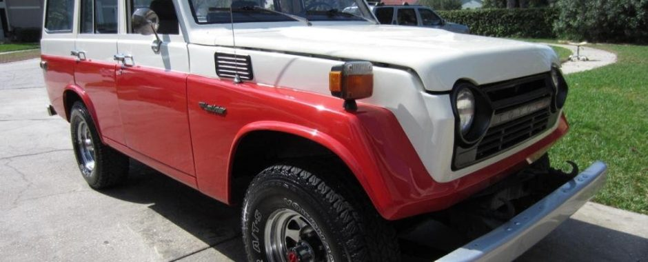 FOR SALE 1978 Toyota Landcruiser FJ55 With Factory A/C