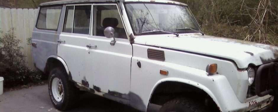 ... Toyota Land Cruiser. 1974 FJ55