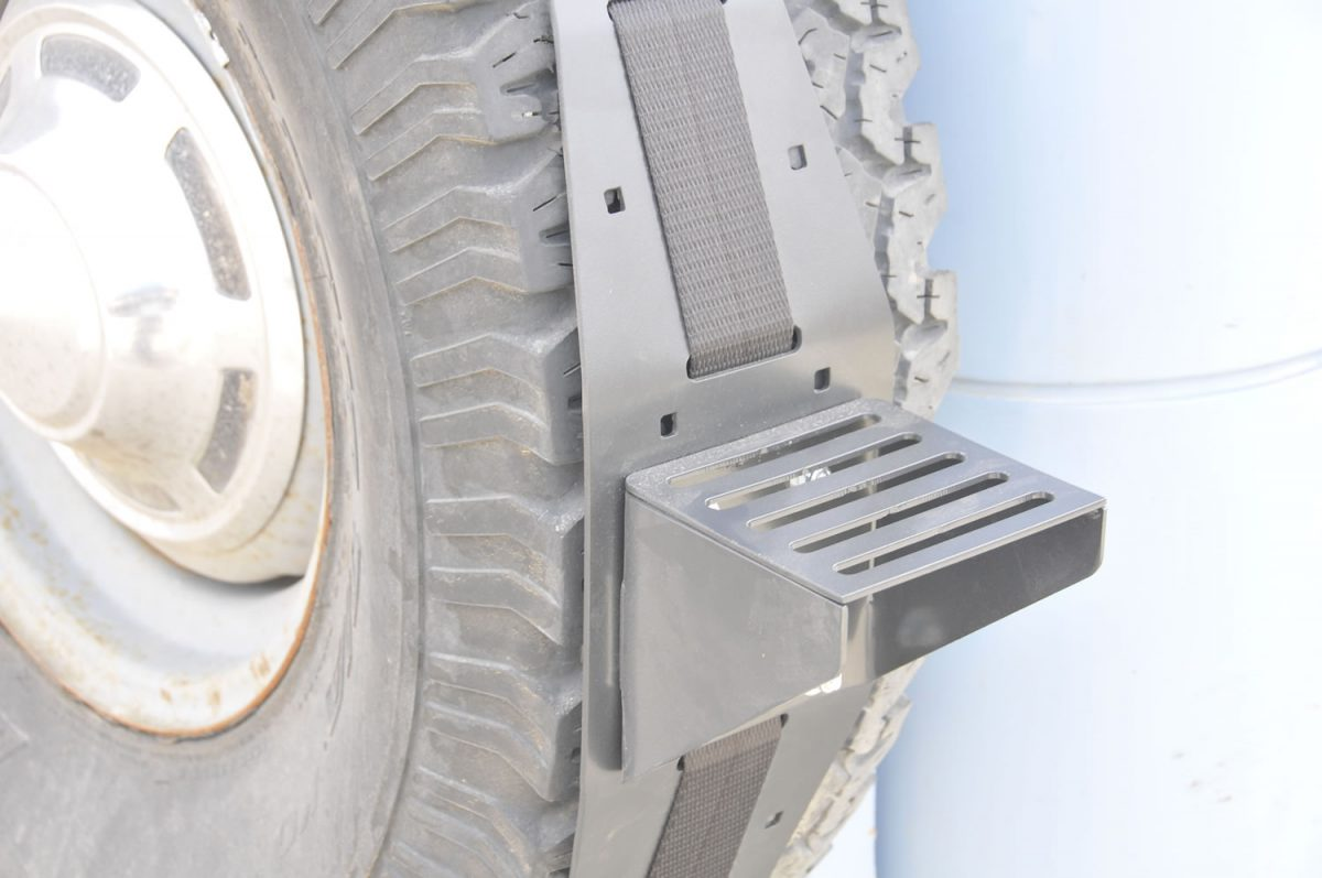 Spare Tire Carrier Hitch Mount