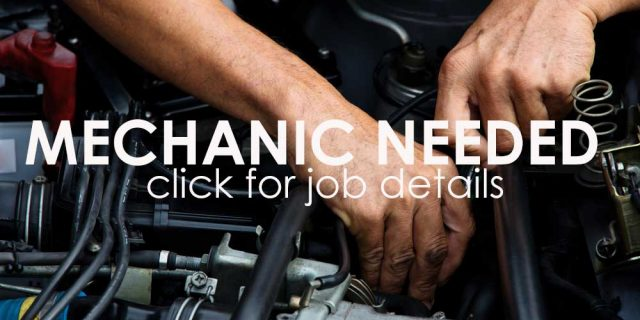 Now Hiring a Toyota Mechanic