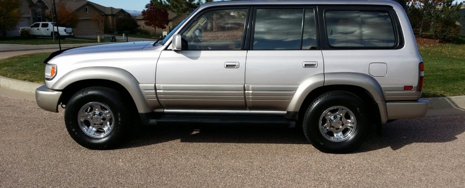 Sold 1996 Lexus Lx450 Immaculate Red Line Land Cruisers