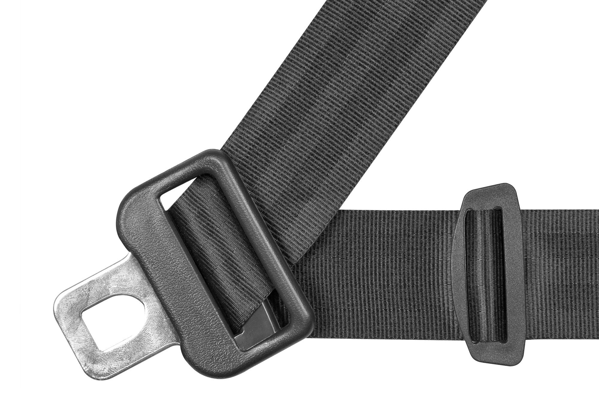 Three Point Belt : Seat belts corbeau point retractable