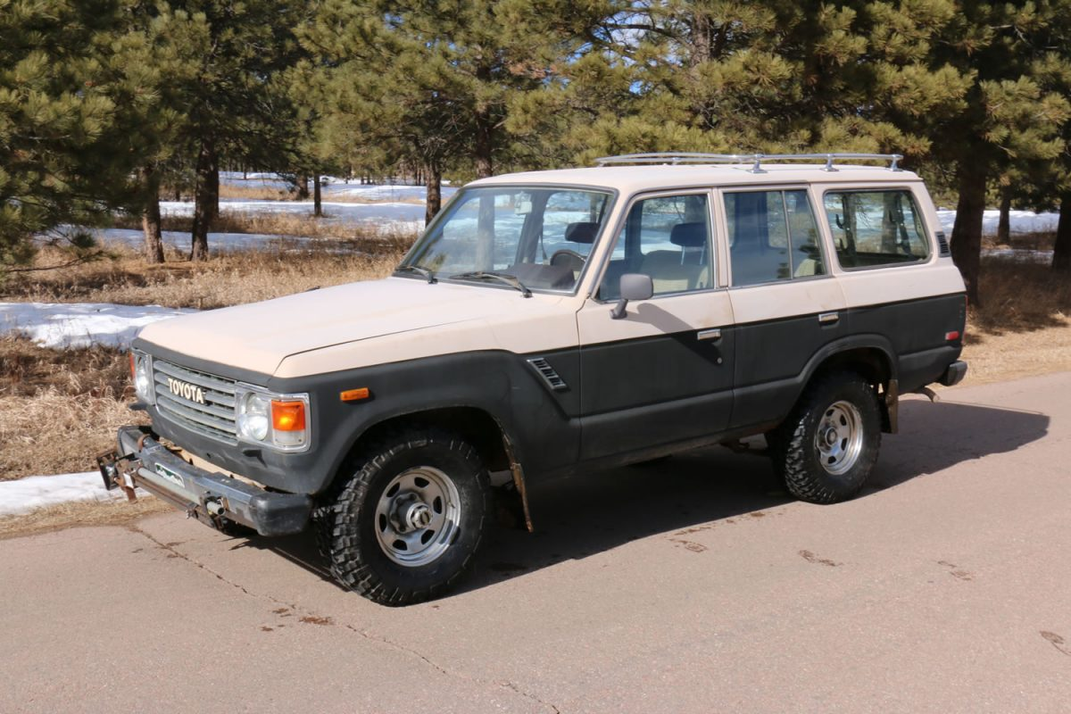 sold 1984 toyota land cruiser fj60 164k miles red line. Black Bedroom Furniture Sets. Home Design Ideas