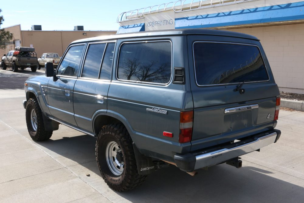 Colorado Springs Toyota >> SODL! 1989 Toyota Land Cruiser FJ62 - Red Line Land Cruisers
