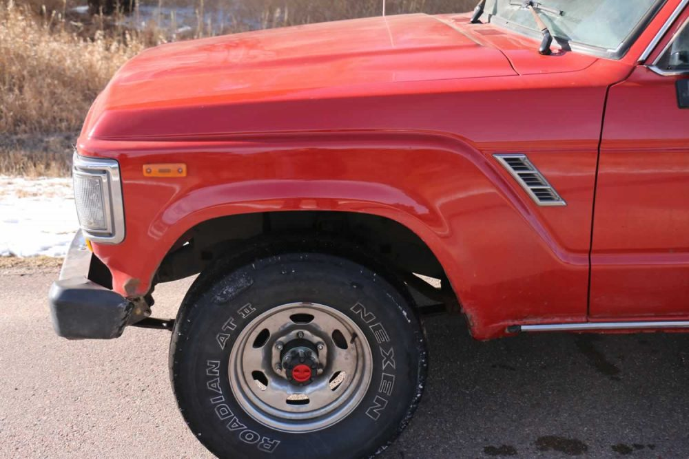 FOR SALE: 1990 Toyota Land Cruiser FJ62, All Original, $7,950 - Red