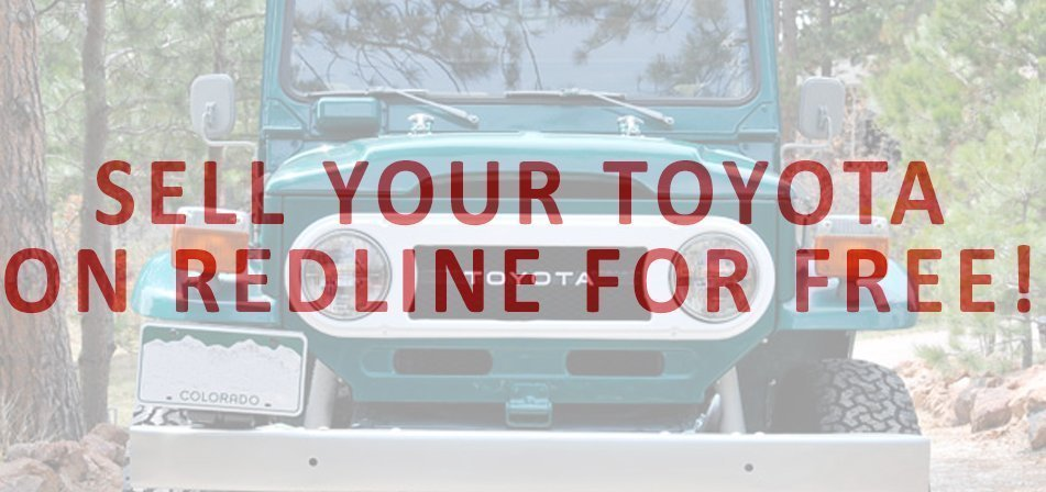 Sell Your Toyota Truck on Redline Classifieds