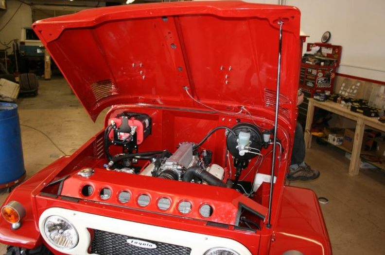 red-fj40-v8 conversion
