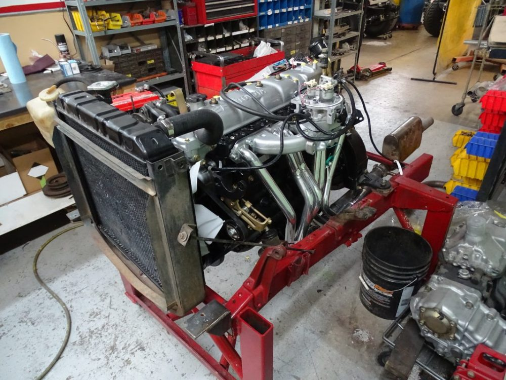 Red Line Freaky High Output 2F Engine Complete, TBI fuel