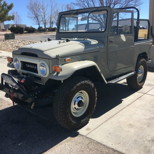 Red Line Land Cruisers Ultimate FJ40 Lift Kit 2.5