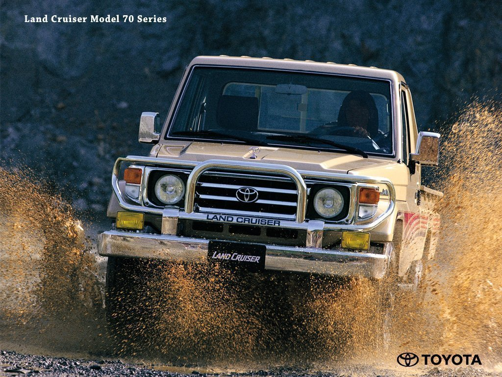 FJ70 Land Cruiser Desktop Background