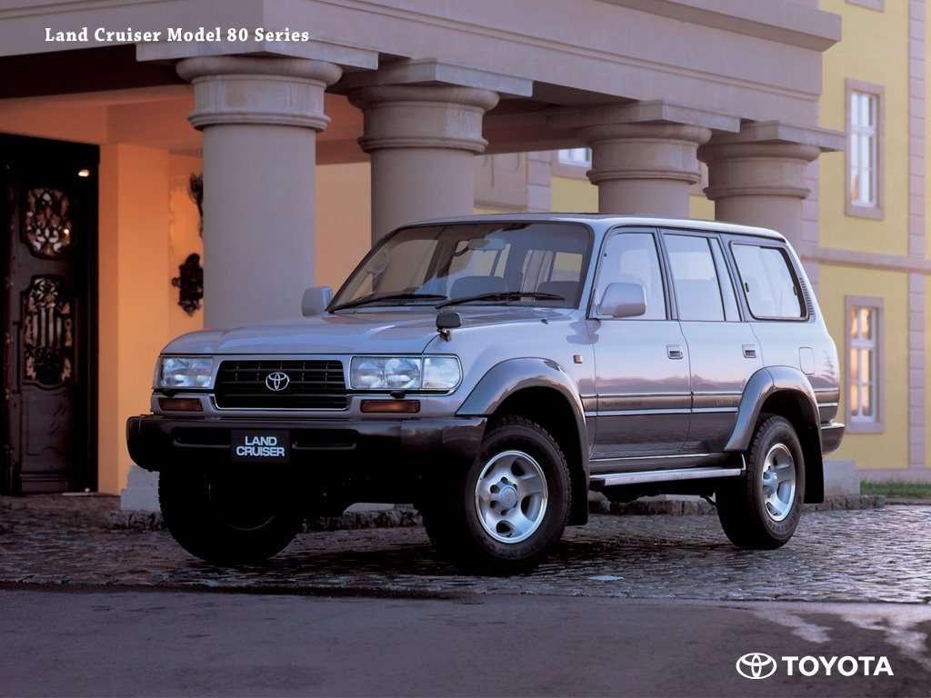 FJ80 Toyota Land Cruiser Desktop Background
