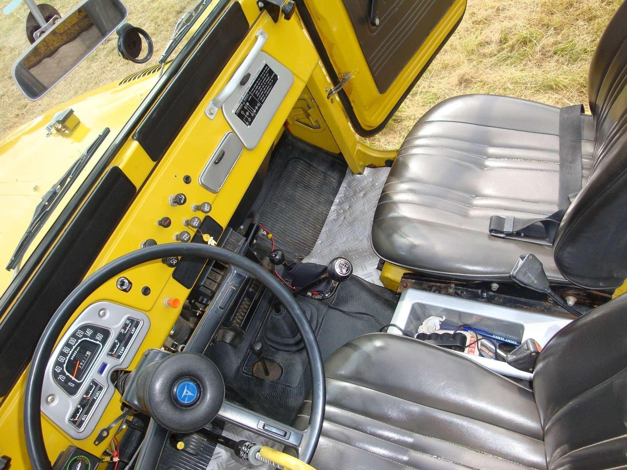 Mustard Yellow 1977 FJ40 OEM
