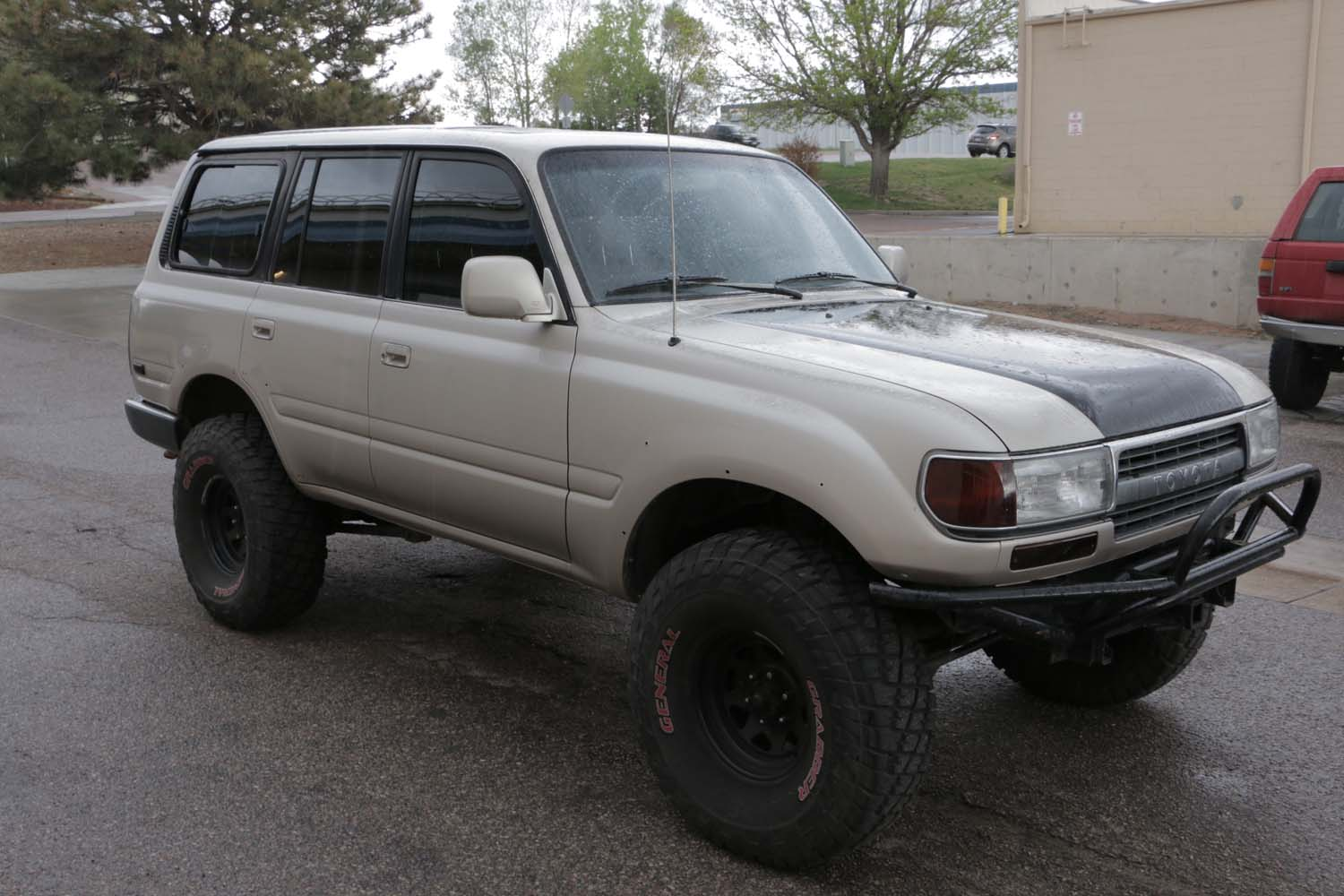 For Sale: 1991 Toyota Land Cruiser FJ80, Lifted, $3,750