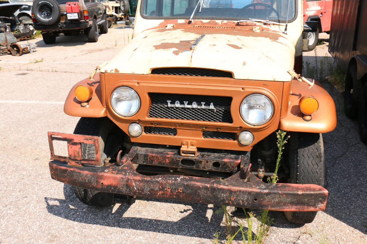 1965 Toyota Land Cruiser FJ45 Wagon (LV) Restoration