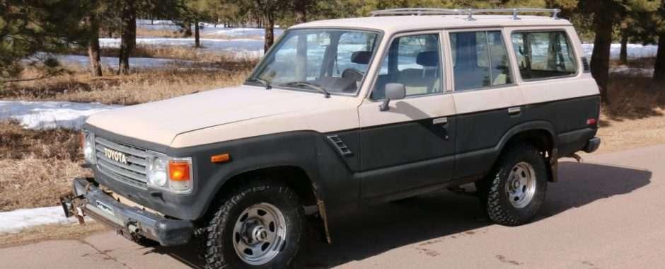 SOLD! 1984 Toyota Land Cruiser FJ60, 164k miles - Red Line