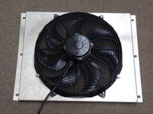 v8 cooling fan